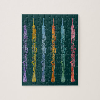 Oboe Crayons Jigsaw Puzzle
