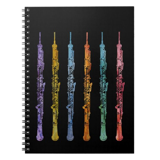 Oboe Crayons Notebook
