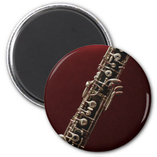 Oboe - double reed woodwind musical instrument magnet