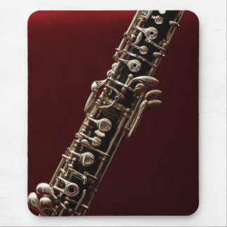 Oboe - double reed woodwind musical instrument mouse pad