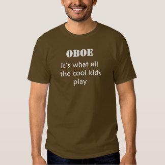 OBOE. Es lo que juegan todos los niños frescos Poleras