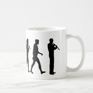 Oboe evolution funny Oboist humor gift Mug