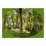 Oboe Forest Greeting Card