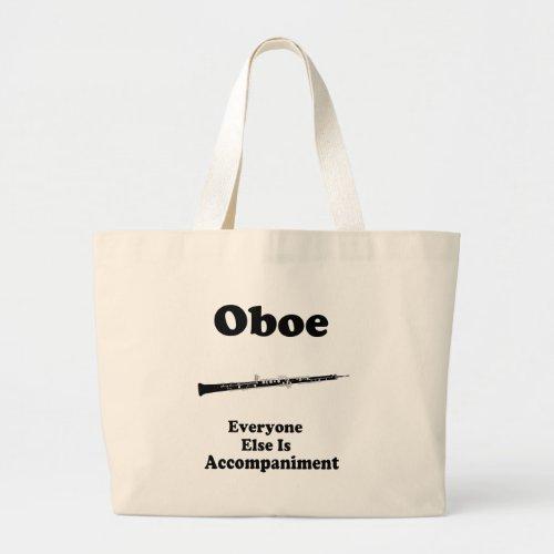 Oboe Gift Large Tote Bag