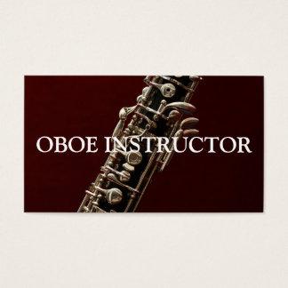 OBOE INSTRUCTOR Music Musician Teacher Business Card