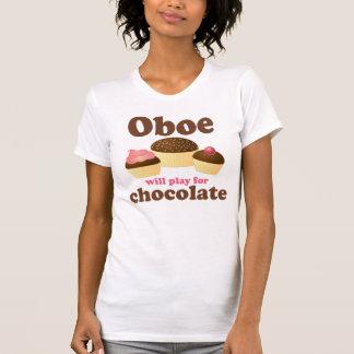 Oboe jugará para el chocolate camisas