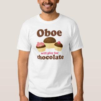 Oboe jugará para el chocolate poleras
