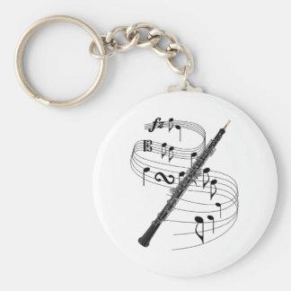 Oboe Keychain