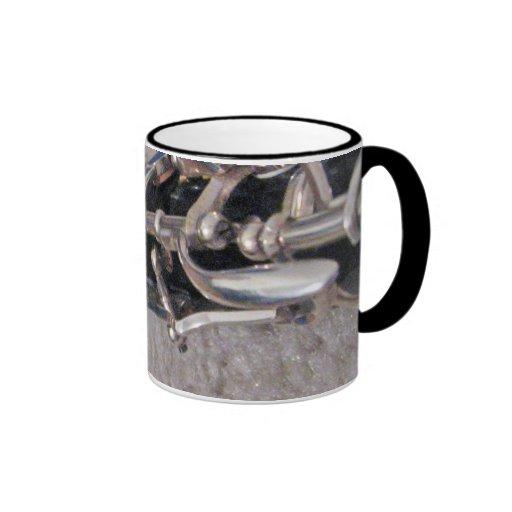 Oboe Keys Ringer Coffee Mug