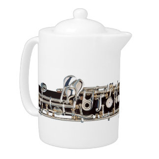 Oboe Keys Teapot