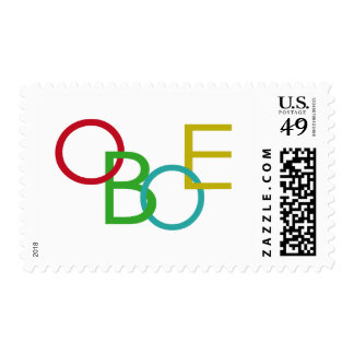 OBOE Letters Stamp