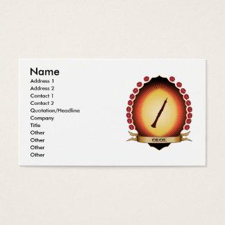 Oboe Mandorla Business Card