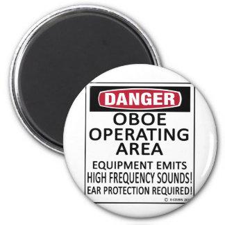 Oboe Operating Area Fridge Magnet