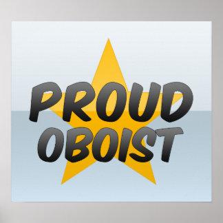 Oboe orgulloso posters
