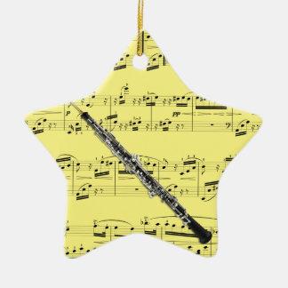 Oboe - Pick your color Ceramic Ornament