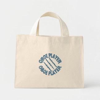 Oboe Player Mini Tote Bag