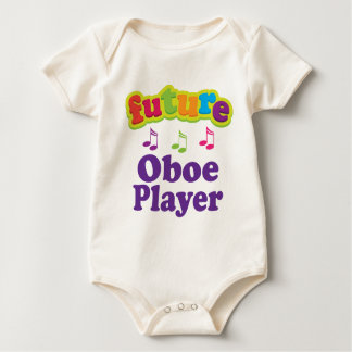 Oboe Player (Future) Baby Bodysuit