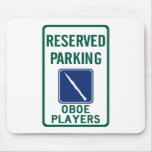 Oboe Players Parking Mousepads