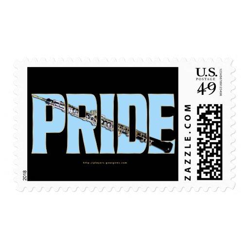 Oboe Pride Stamps