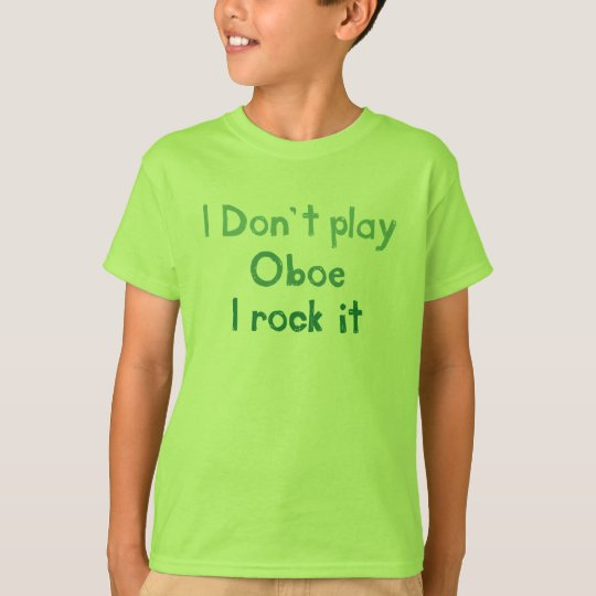 Oboe Rock It - Kids n Babies T-Shirt