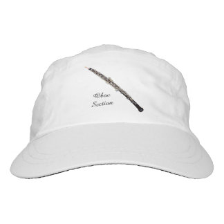 Oboe Section Customizable Text Hat