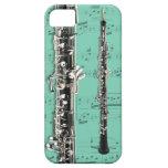 Oboe & sheet music phone case. Pick color iPhone SE/5/5s Case