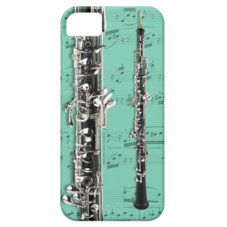 Oboe & sheet music phone case. Pick color iPhone SE/5/5s Case