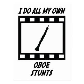 Oboe Stunts Postcard