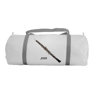 Oboe with Custom Monogram Duffle Bag