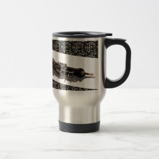 Oboe with Shadow Travel Mug