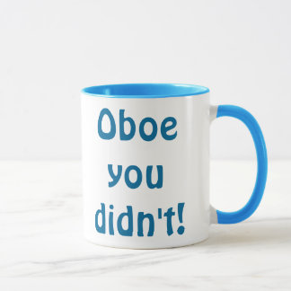 Oboe You Didn't Mug