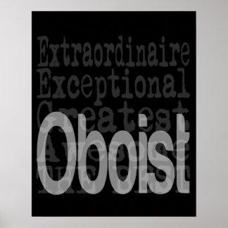 Oboist Extraordinaire Poster