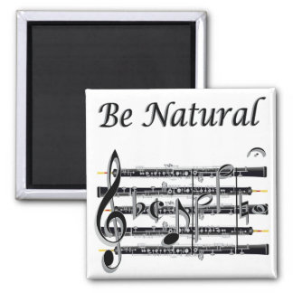 Oboists Know How to B Natural Fridge Magnets