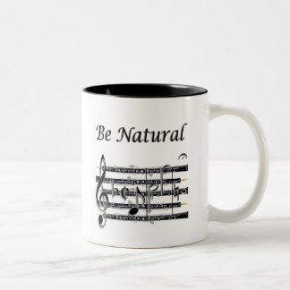 Oboists Know How to B Natural Two-Tone Coffee Mug