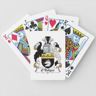 O'Bolger Family Crest Card Decks