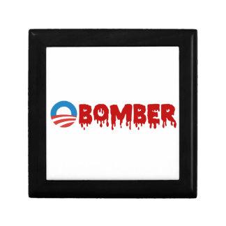 OBOMBER - Obama/belicista/Siria/mal/Terrorist/NSA Cajas De Recuerdo