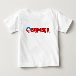 OBOMBER - Obama/Obummer/Traitor/Impeach/Warmonger Baby T-Shirt