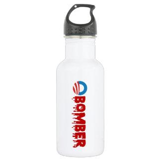 OBOMBER - Obama/Warmonger/Syria/Evil/Terrorist/NSA Water Bottle