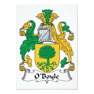 O'Boyle Family Crest Invitations