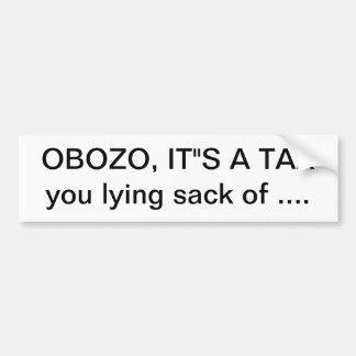 obozo bumper sticker
