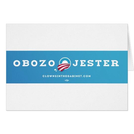 Obozo for America 2012 Card