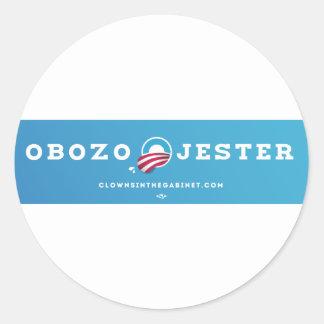 Obozo for America 2012 Classic Round Sticker
