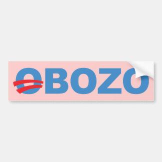 Obozo Obama Car Bumper Sticker
