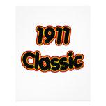 Obra clásica 1911 plantilla de membrete