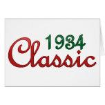 Obra clásica 1934 felicitacion