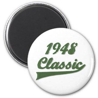 Obra clásica 1948 imán redondo 5 cm
