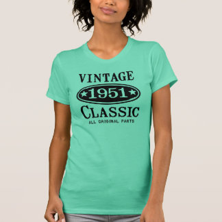 Obra clásica 1951 del vintage t-shirts