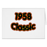 Obra clásica 1958 tarjetas