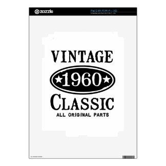 Obra clásica 1960 del vintage calcomanía para el iPad 2