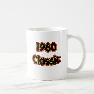 Obra clásica 1960 tazas de café
